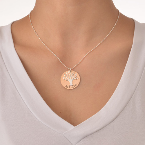 Inspirational Family Tree Necklace - 2
