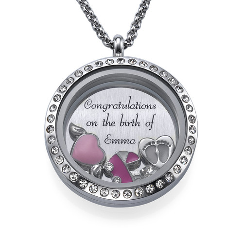 It's a Girl  Floating Locket
