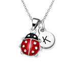 Ladybug Necklace for Kids