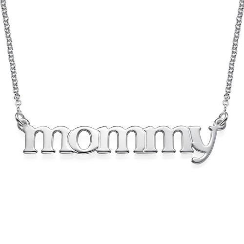 Lowercase Name Necklace - 1