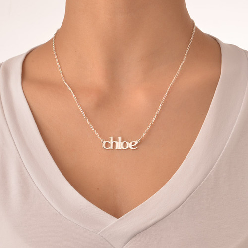 Lowercase Name Necklace - 2