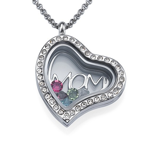 MOM Floating Locket - 1