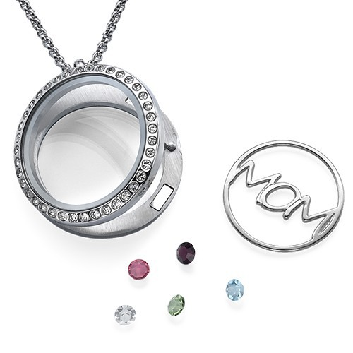 MOM Floating Locket - 2