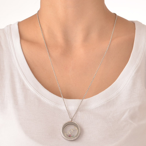 MOM Floating Locket - 5