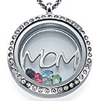 MOM Floating Locket