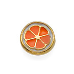 Orange Charm for Floating Locket