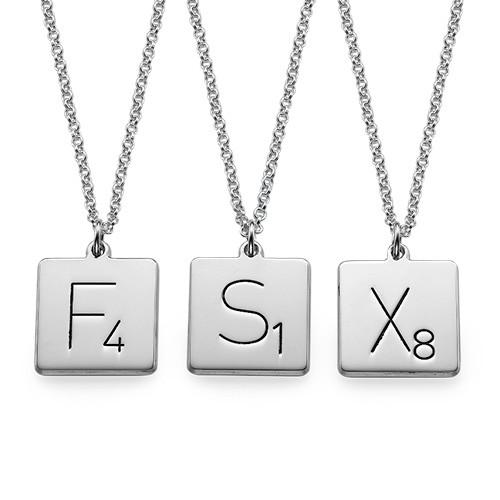 Scrabble Necklace - 1