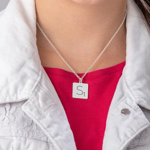 Scrabble Necklace - 3