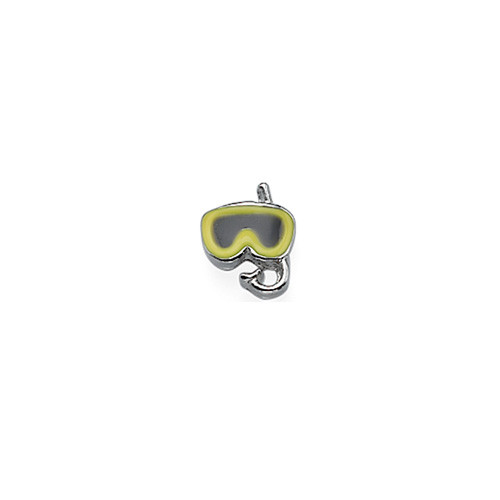 Snorkeling Mask Charm for Floating Locket