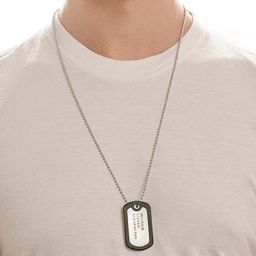 Stainless Steel Personalized Dog Tag - 2