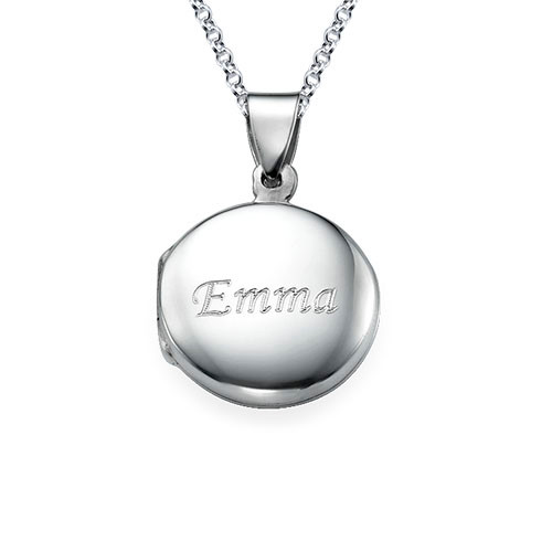 Sterling Silver Personalized Locket