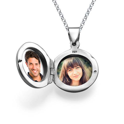 Sterling Silver Personalized Locket - 2