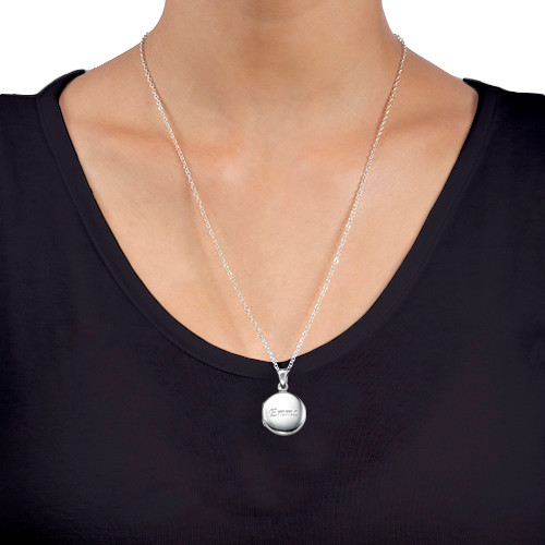 Sterling Silver Personalized Locket - 3