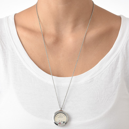 To the Moon and Back Floating Locket - 4