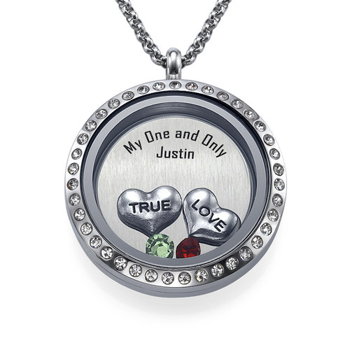 True Love Floating Locket