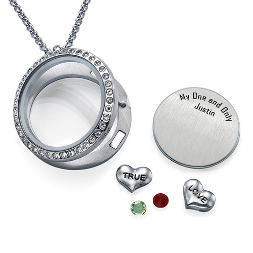 True Love Floating Locket - 1