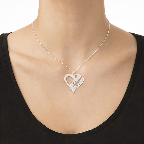 Two Hearts Forever One Necklace - 1