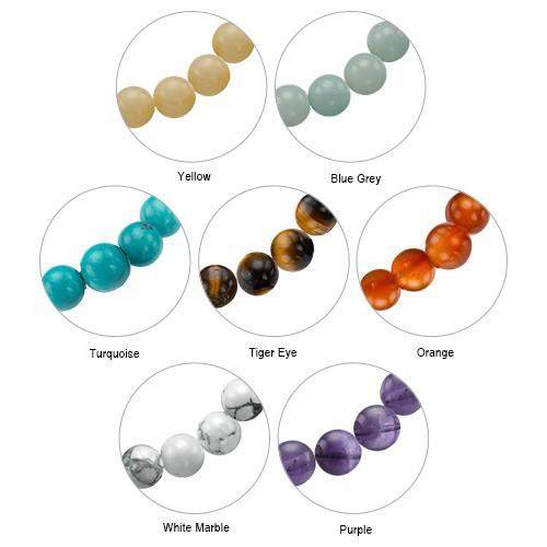 Yoga Jewelry - Lotus Flower Bead Bracelet - 4