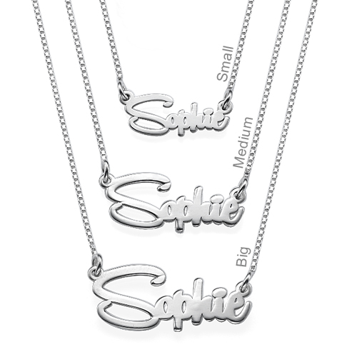 Say My Name Personalized Necklace - 1