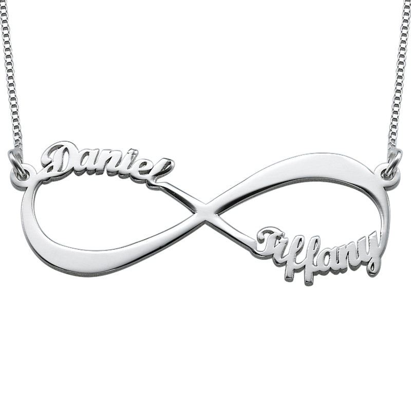 8207f2b6319d Infinity Name Necklace in Sterling Silver