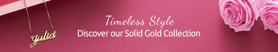 Solid Yellow Gold Jewelry - Forever Classic