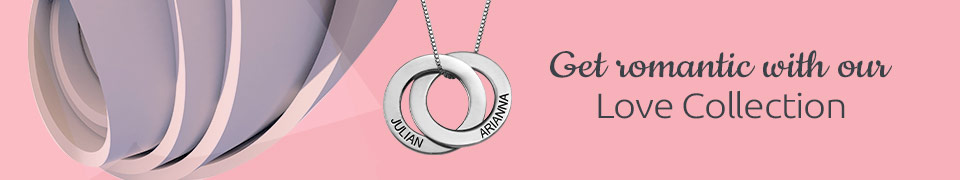 Love Jewelry Collection - When you can't find the words, find a symbol of your love