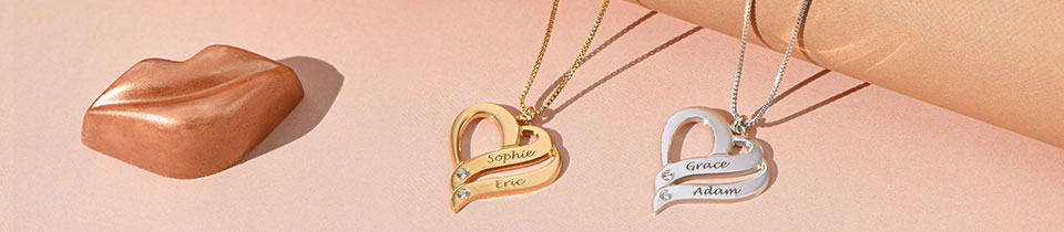 Diamonds are Forever - Diamond Name Necklaces