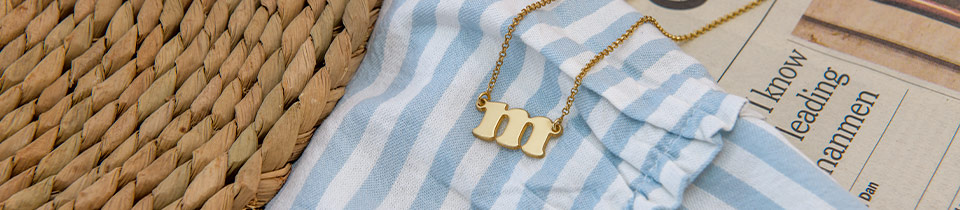 Initial Necklaces & Jewelry