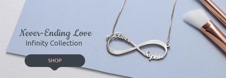 Infinity Necklaces & Jewelry