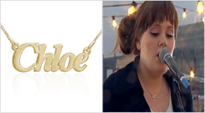 Name Necklace Adele