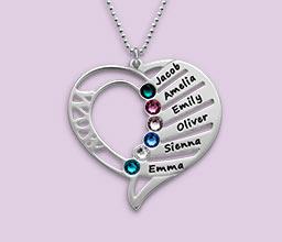 cc648b428 10 Top Birthstone Jewelry for Mom | MyNameNecklace Canada