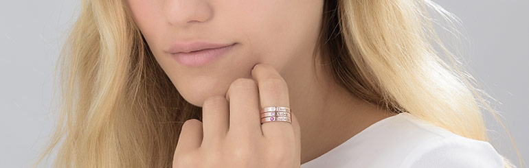 How To Style your Ring Stack