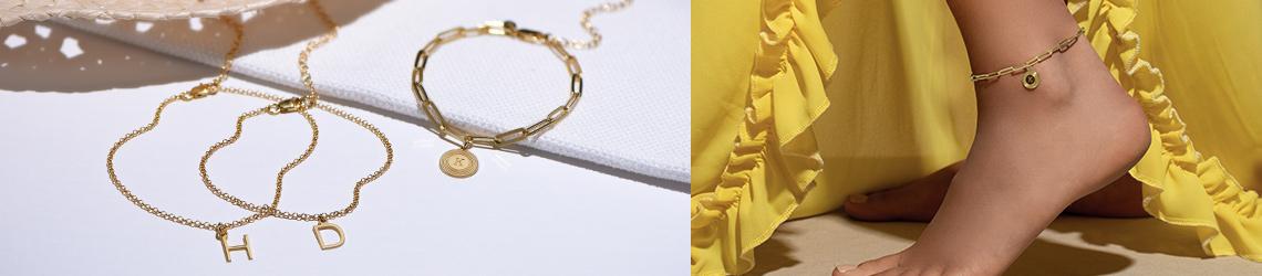 Personalized Ankle Bracelets