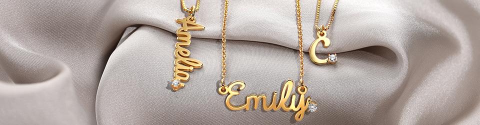 Diamonds are Forever - Diamond Name Necklaces