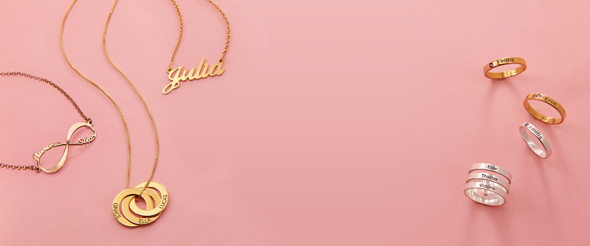 My Name Necklace's Jewelry Sizing Guide