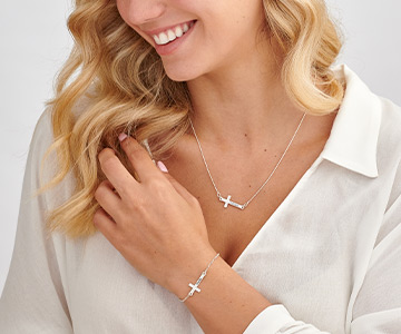 The Meaning of the Sideways Cross Necklace